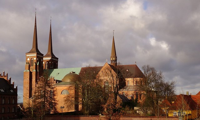Roskilde Cathedral - Roskilde Domkirke - Constructed in the 12th and 13th centuries - Denmark