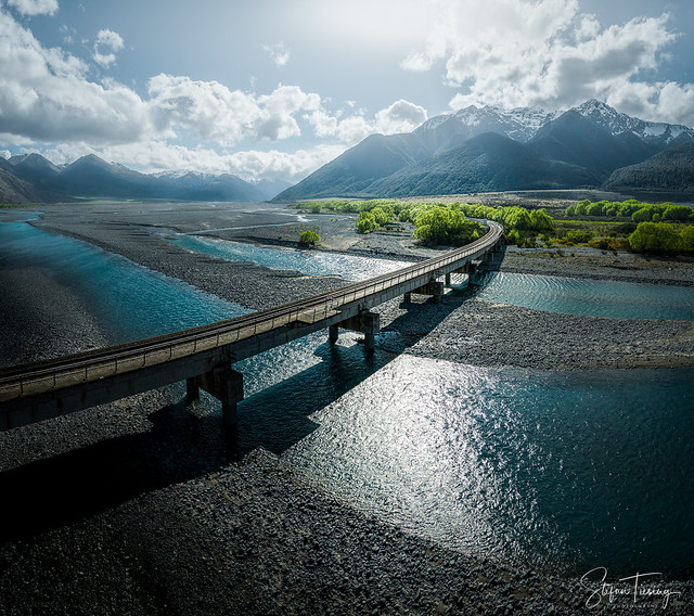 Waimakariri River Railway Bridge