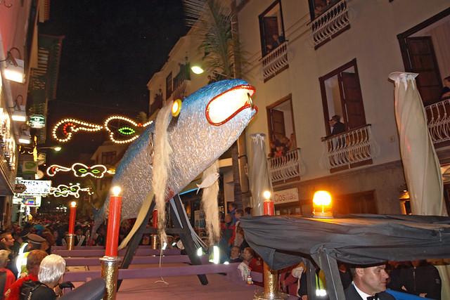 Burial of the Sardine, Puerto de la Cruz