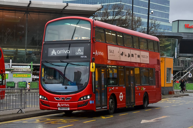 Arriva London - HV176 - BN14 WAO - 158 Chingford Mount