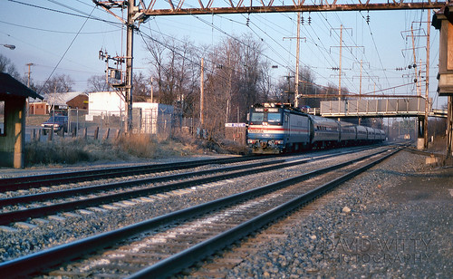Passing Trains At Bowie