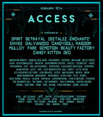 ACCESS  February  Line up