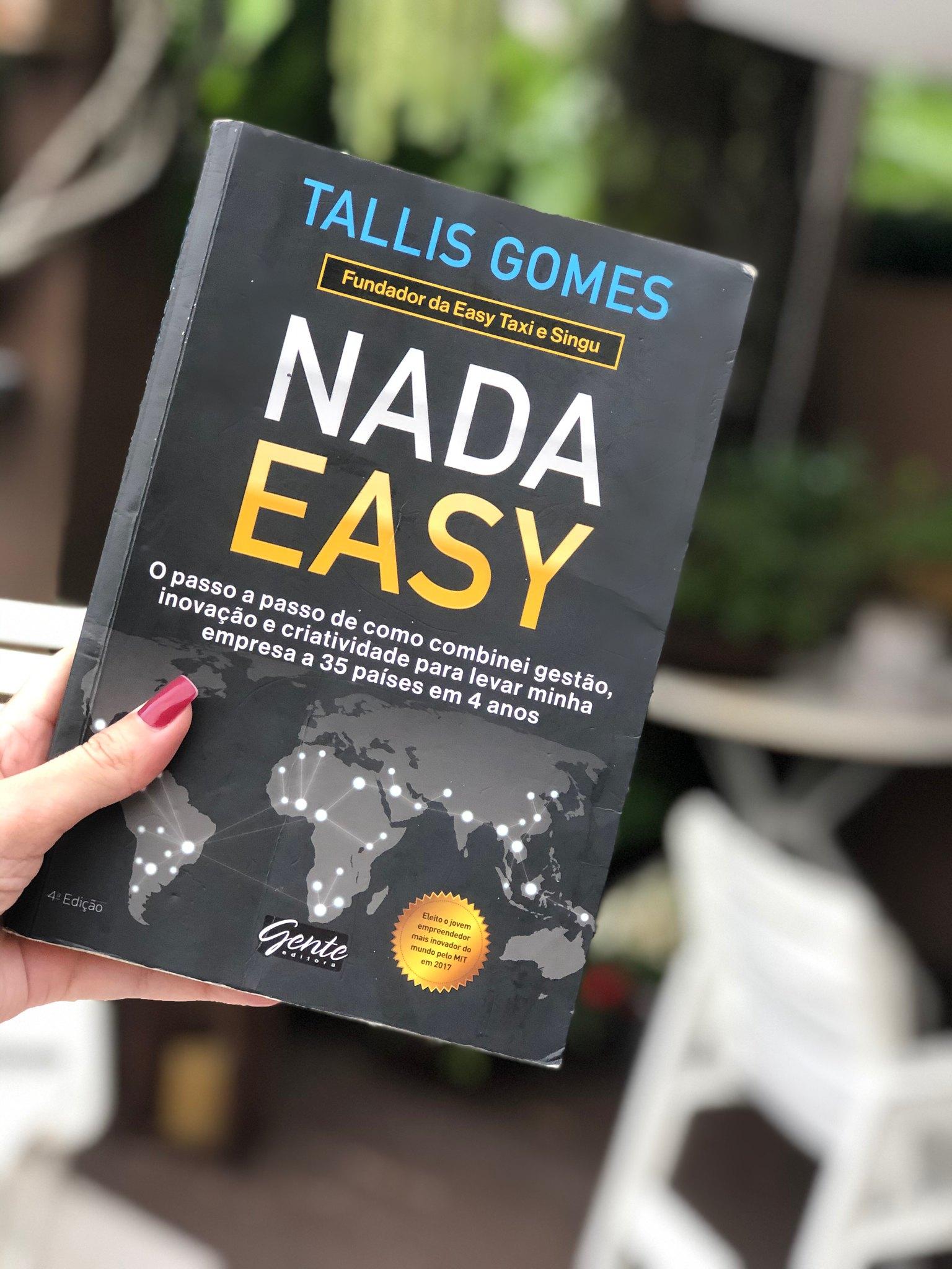 Resenha: Livro Nada Easy | Como abrir uma startup?