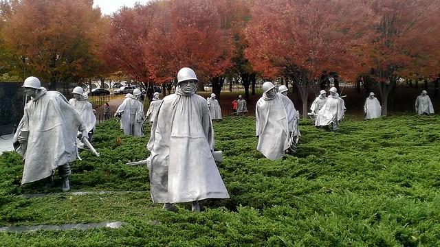 Korean War Veterans Memorial, National Mall and Memorial Parks  11/7/2013
