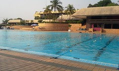 Piscine de l'Ivoire Golf Club à Abidjan