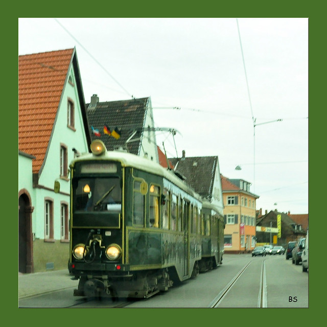 Februar 2020 ... Historischer Salonwagen von 1929 / Sonderfahrt / Mannheim-Seckenheim ... Foto: Brigitte Stolle