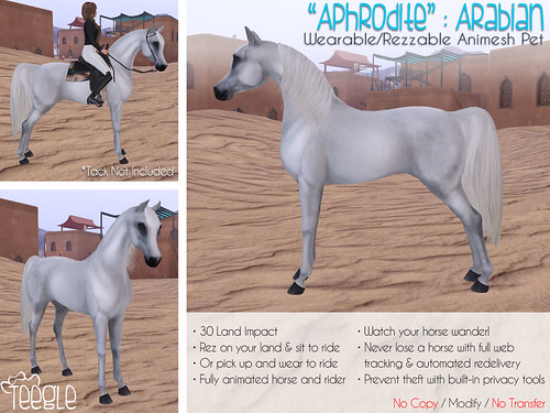 Teeglepet Arabian Ad