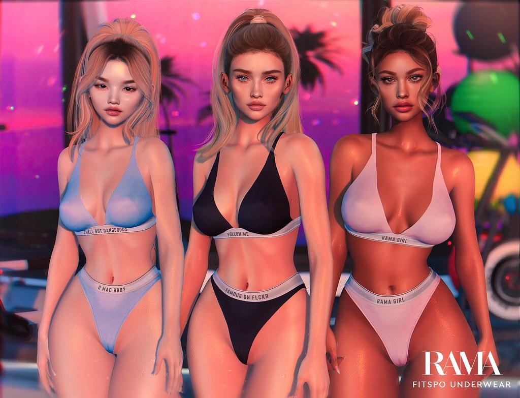 RAMA – Fitspo Underwear Legacy Update