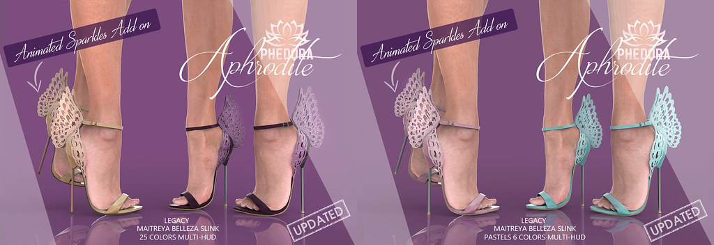 "Phedora for Collabor88 ~ ""Aphrodite"" Heels ♥"