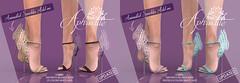 "Phedora for Collabor88 ~ ""Aphrodite"" Heels ♥"