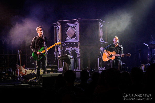 Dave Hause (w/ Northcote) @ Union Chapel (London, UK) on February 8, 2020