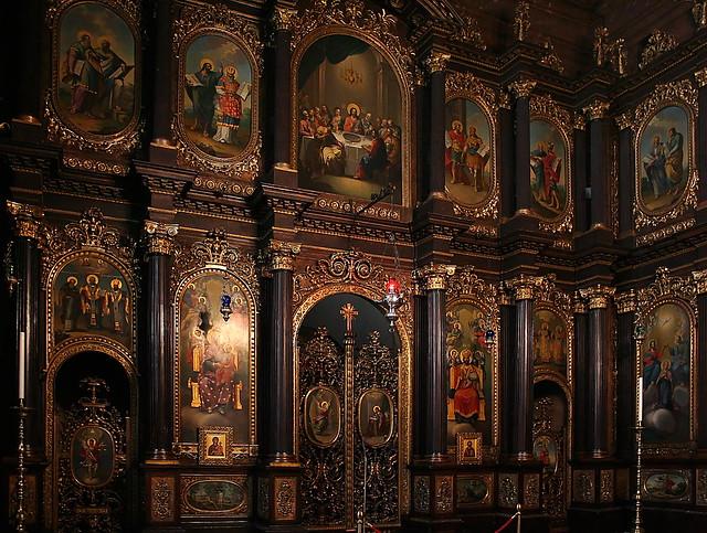 In der Griechenkirche in Wien