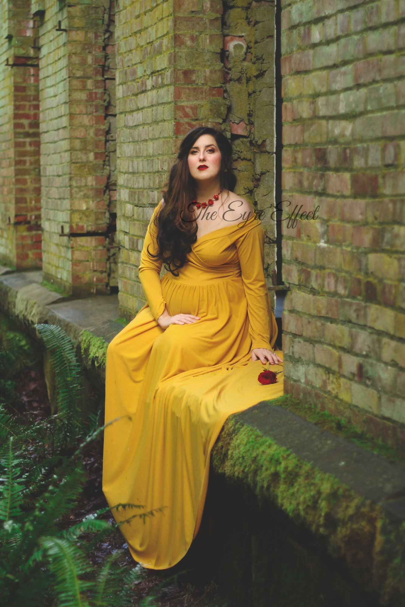 Belle inspired disneybounding photoshoot