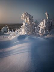 Snow Pyramids
