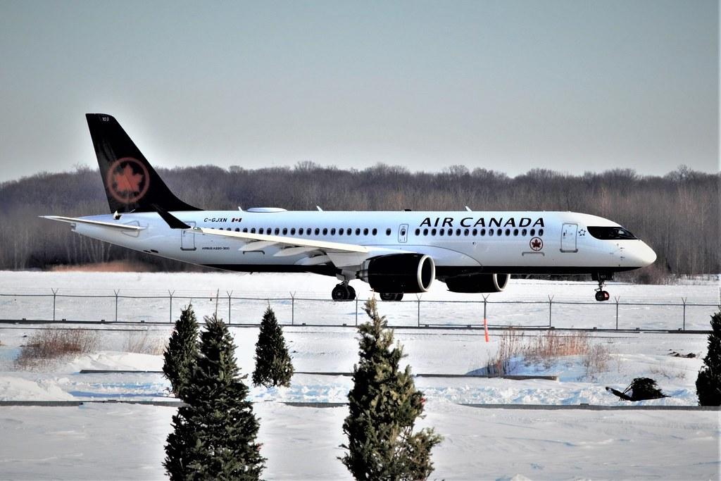 Air Canada Airbus A220-300 (Bombardier CS300, BD-500-1A11) C-GJXN