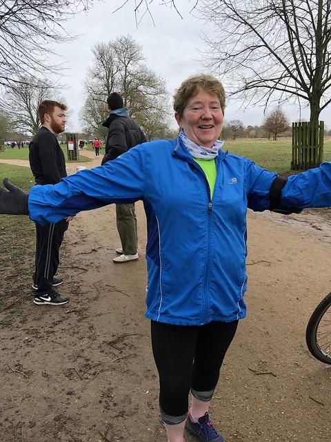 Liz, event director for Victoria juniors in Glasgow