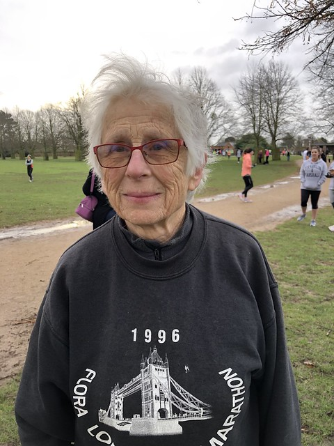 Mary, who is back at parkrun after a 15 year absence. Welcome back, Mary!