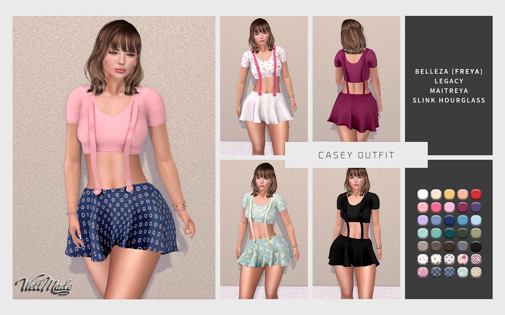 [WellMade] Casey Outfit