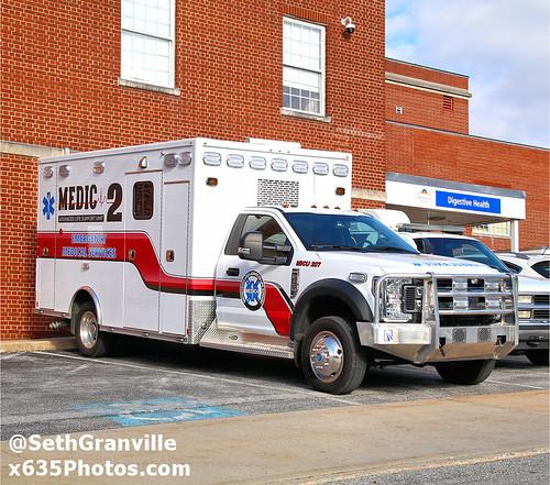 Wayneboro Area Advanced Life Support MICU 207 Photo