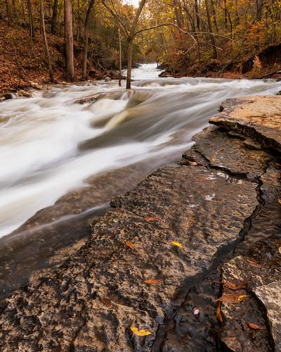 arkansas landscape tanyardcreek tanyardcreekfalls waterfalls bellavista bentonville storm