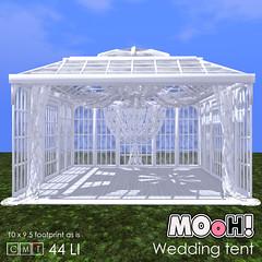 MOoH! Wedding tent