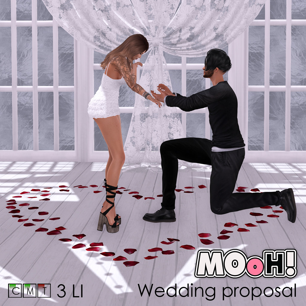 MOoH! Wedding proposal