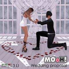 MOoH! Wedding proposal