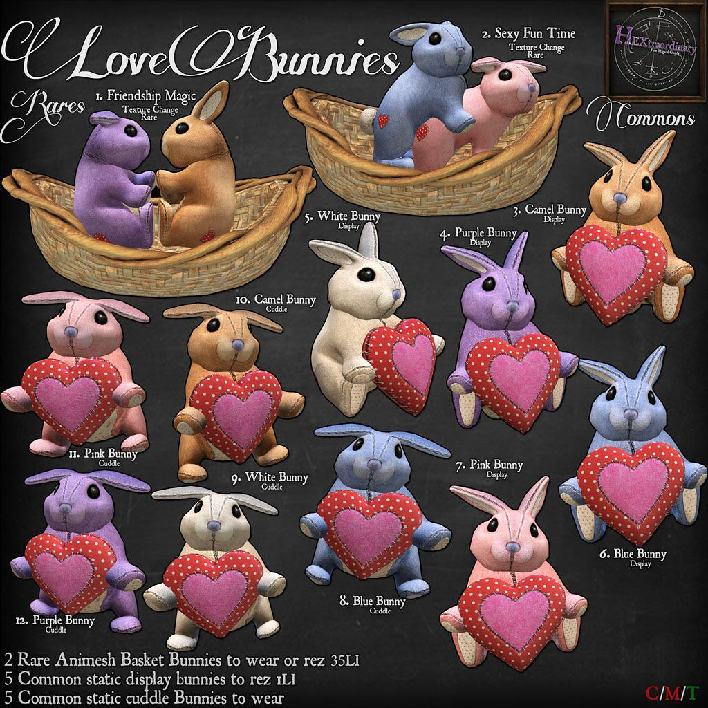 HEXtraordinary- Love Bunnies Gacha @Gacha Garden