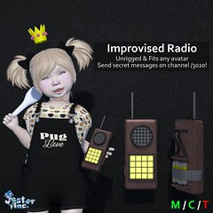 Presenting the new Improvised Radio from Jester Inc.