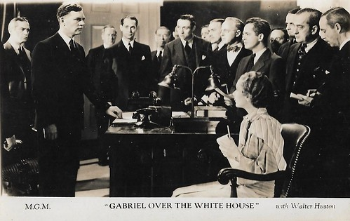 Walter Huston in Gabriel over the White House (1933)