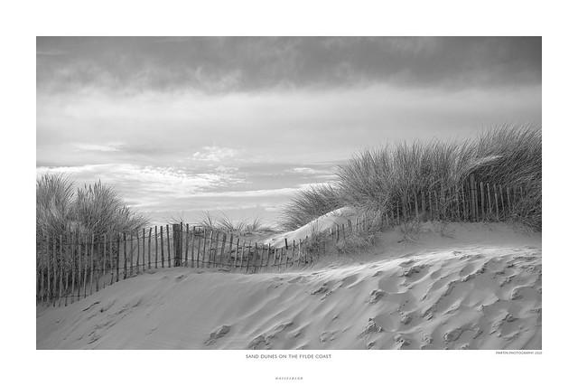Sand dunes on the Fylde coast
