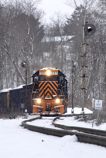 W&LE 301 Pittsburgh Junction 389 2/8/20
