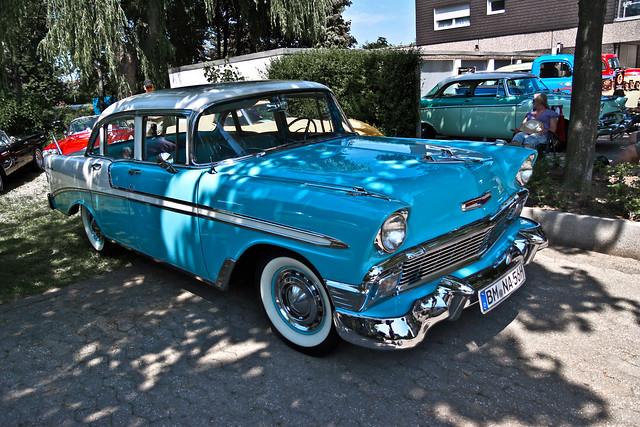 Chevrolet Bel Air Sedan 1956 (1336)