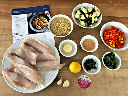 blue apron meal ingredients