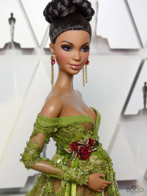 Alma on the red carpet of the Oscars Awards 2020