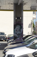 Salvadore Dali on Valencia Street @ 19th, Mission District