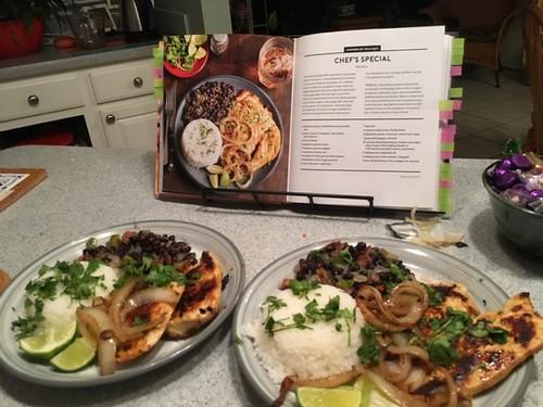 College cooking with Evan: Pollo a la plancha