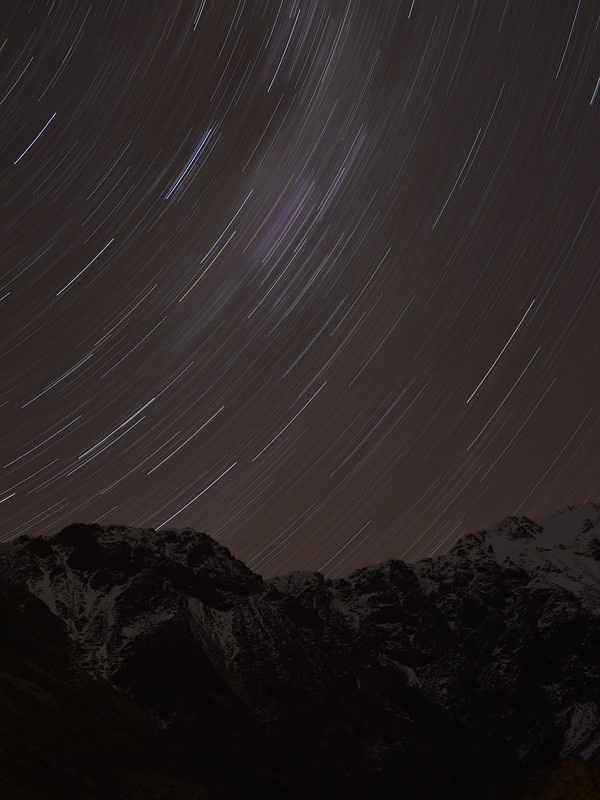 Stars at Mt. Cook