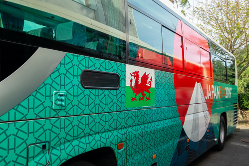 rwc2019top50 bus japan rwc2019top100 rugby wales hayamidistrict ōitaprefecture