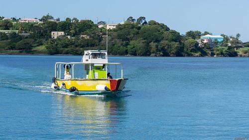 caribbean antille paysage landscape traversier saintelucie stlucia caraïbes 3904 petit petittraversier small ferry