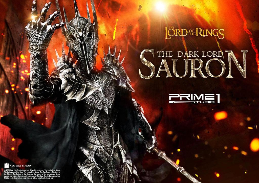 黑暗魔君以超高水準再現於世人面前! Prime 1 Studio《魔戒》索倫 サウロン PMLOTR-01 1/4 比例全身雕像 普通版/EX版