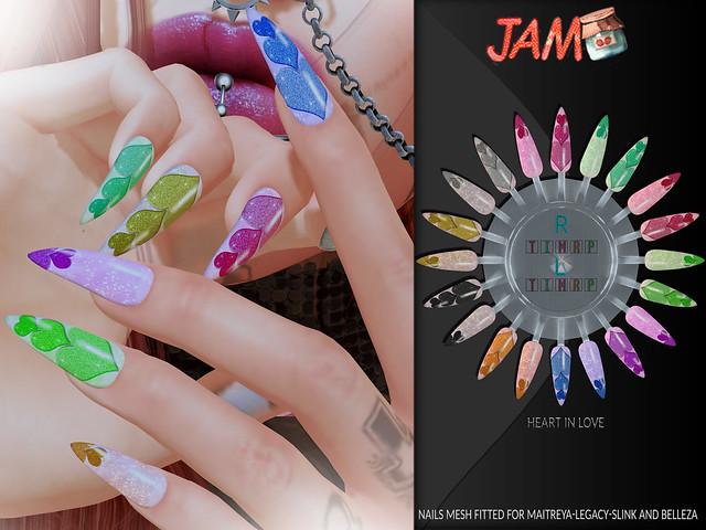 JAM Nails HeartInLove adv