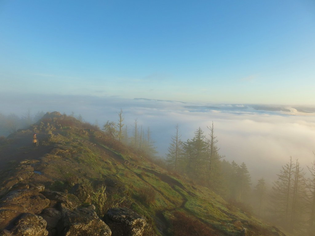 View from Spencer Butte