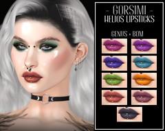 - Gorsimi - Helios Lipsticks