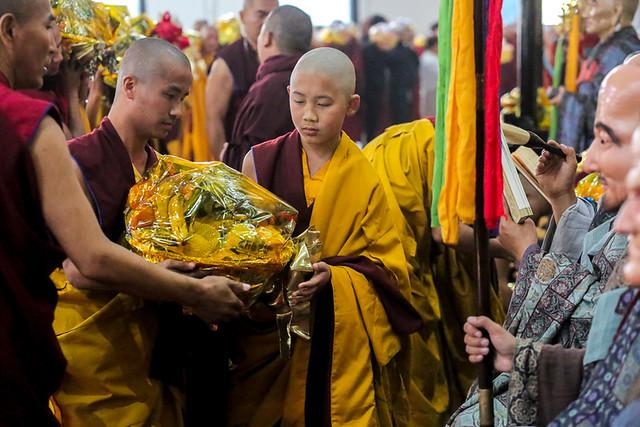 20200207_Bokar Rinpoche Selection on Ordination Day