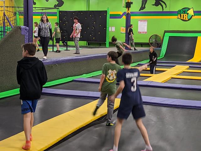 2020-01-20 Get Air trampoline park