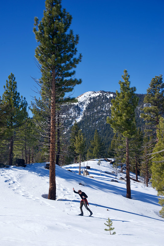 Skiing Hope Valley