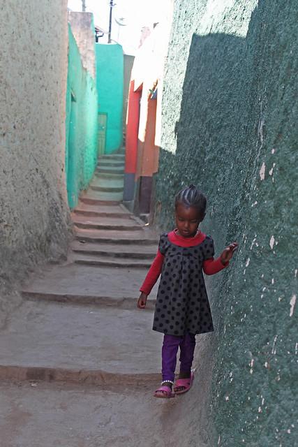 Street in Harar, Ethiopia