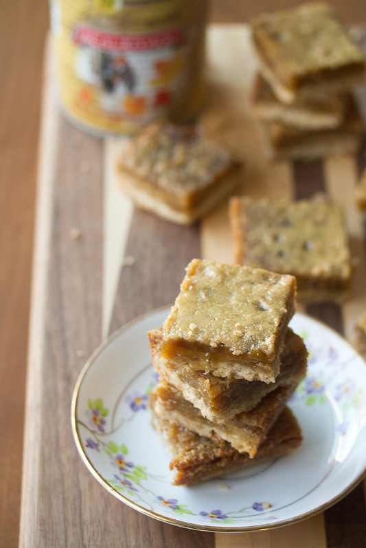 Maple Butter Tart Bars