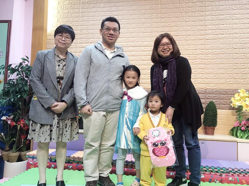19-20年度「親子快樂聖誕卡、立體雪人創作比賽」獲獎家庭